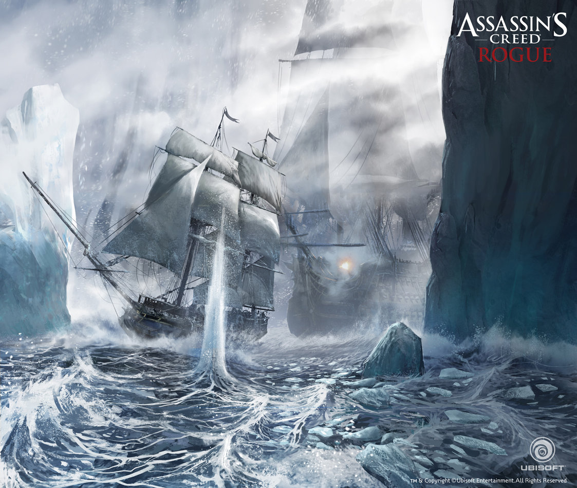 Assassin's Creed Rogue Concept Art by Ivan Koritarev