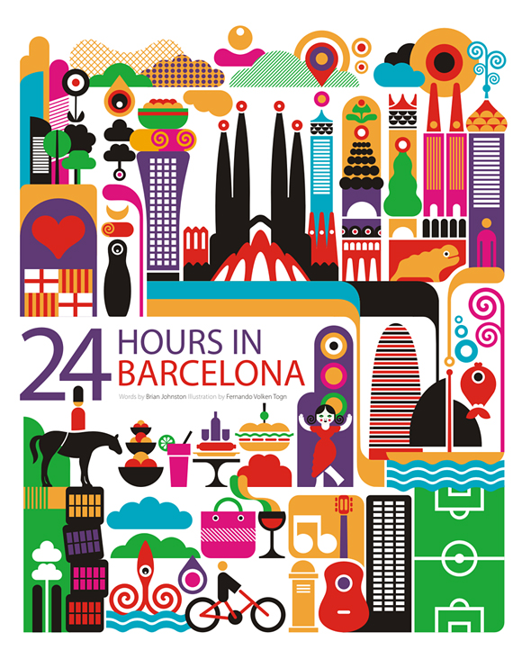 24 Hours Illustration Series - Fernando Volken Togni