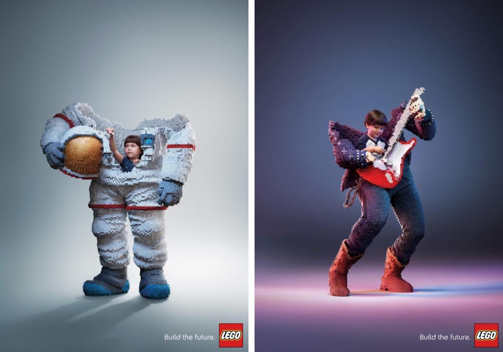Creative New LEGO Print Campaign