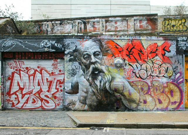 Murals of Greek Gods by Pichi & Avo