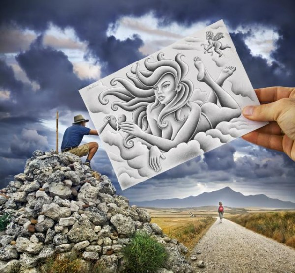 New Pencil vs Camera - Ben Heine