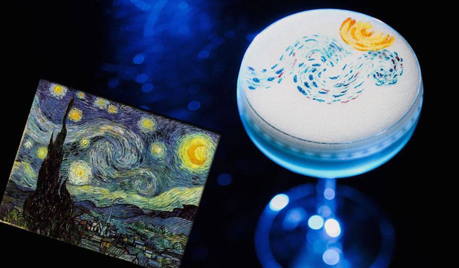 Impressive Cocktails Inspired by Dali, Mondrian & Van Gogh (6 pics)