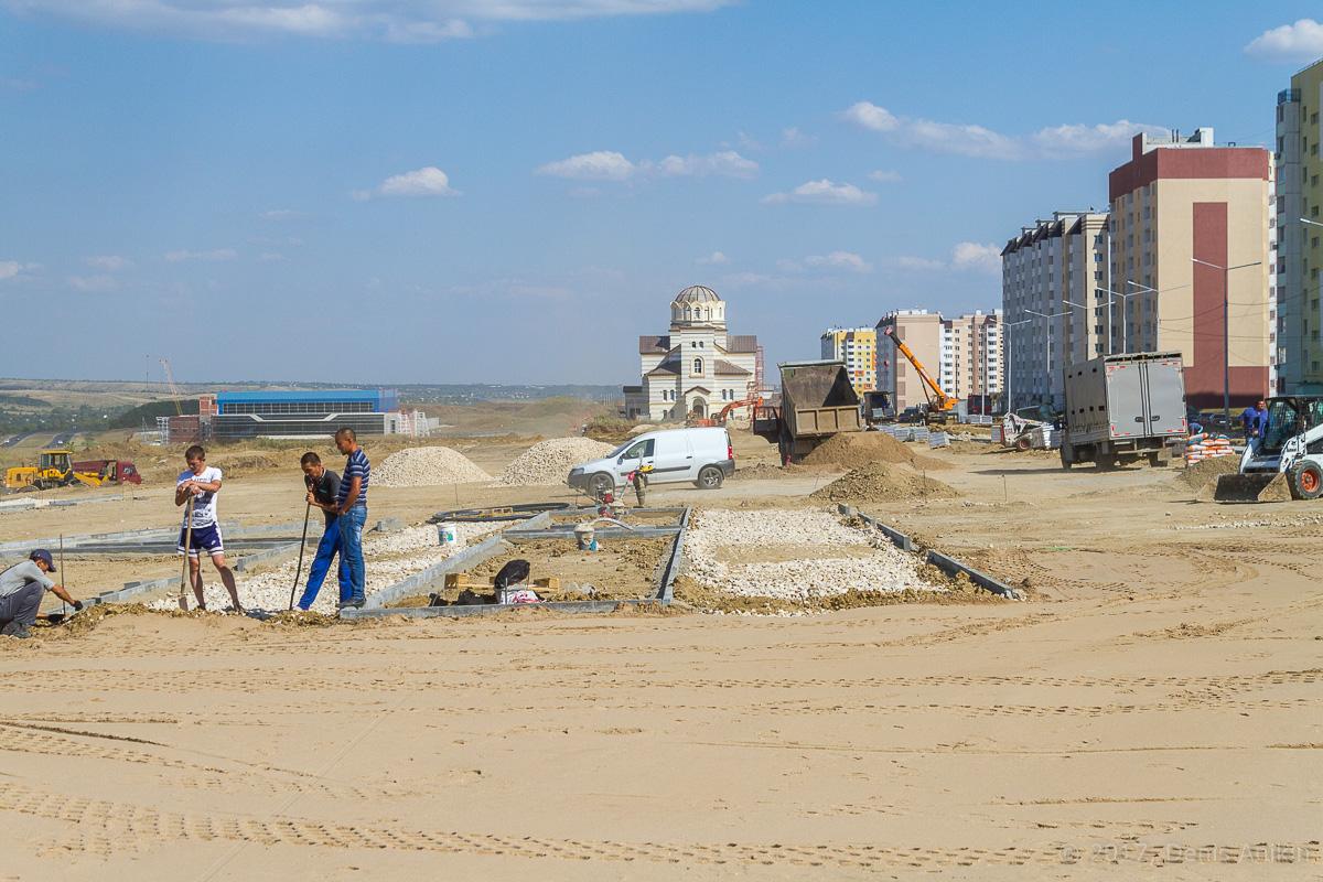 строительство бульвара в Солнечном-2 фото 5