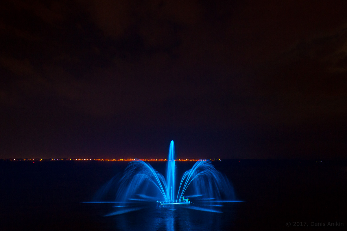 открытие фонтана Сердце Волги фото 13