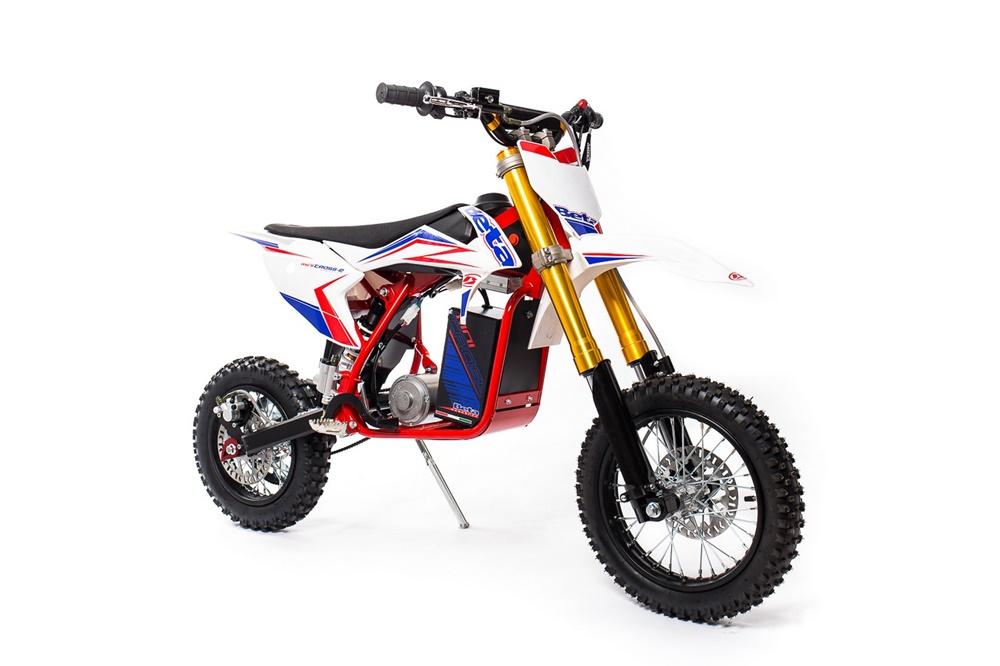 Beta Minicross-E - электрический байк для молодых мотоциклистов
