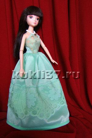 длинное платье для Барби