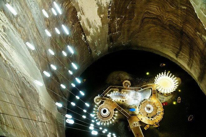 Соляная шахта Салина Турда. Румыния