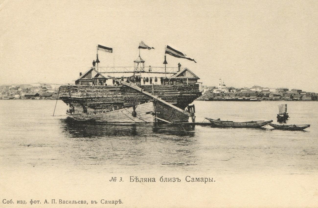 Окрестности Самары.  Беляна близ Самары