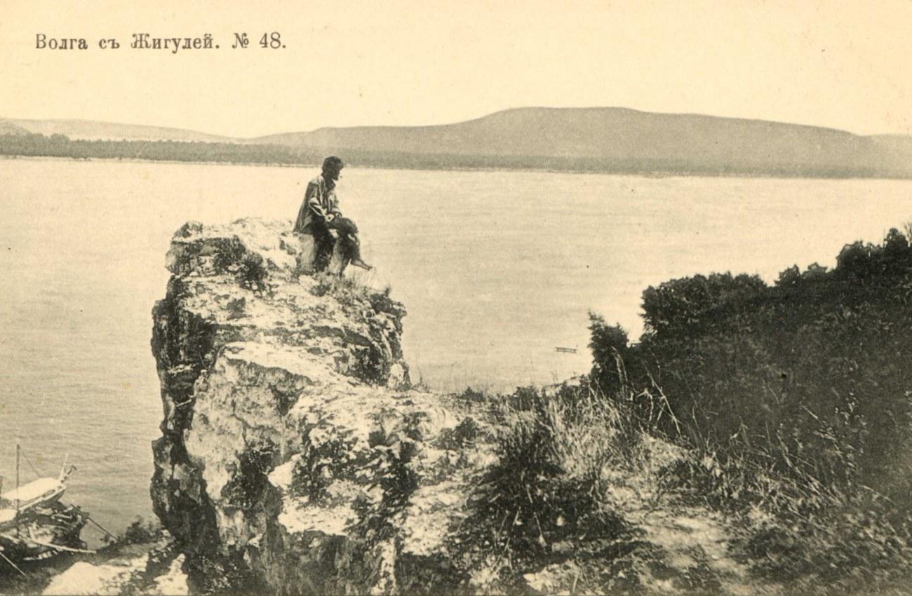 Окрестности Самары. Волга с Жигулей