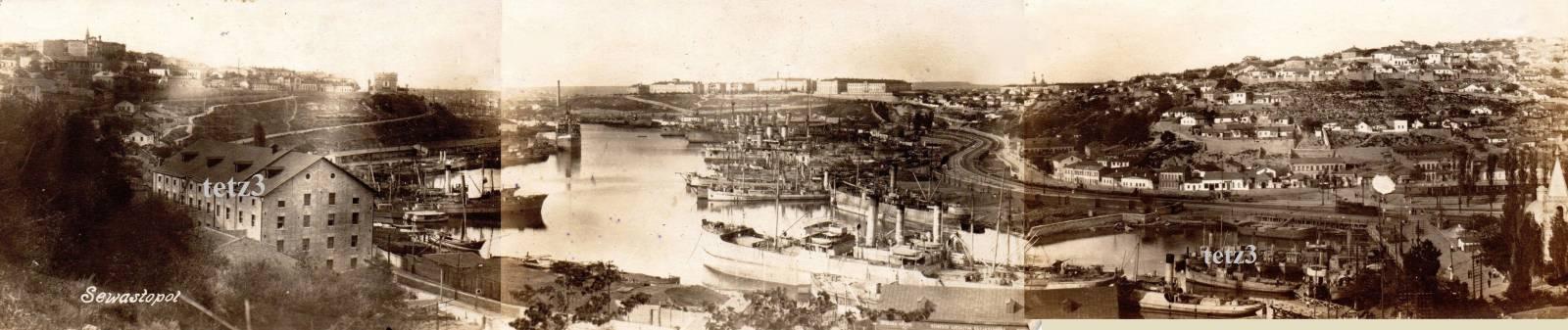 1920. Панорама города