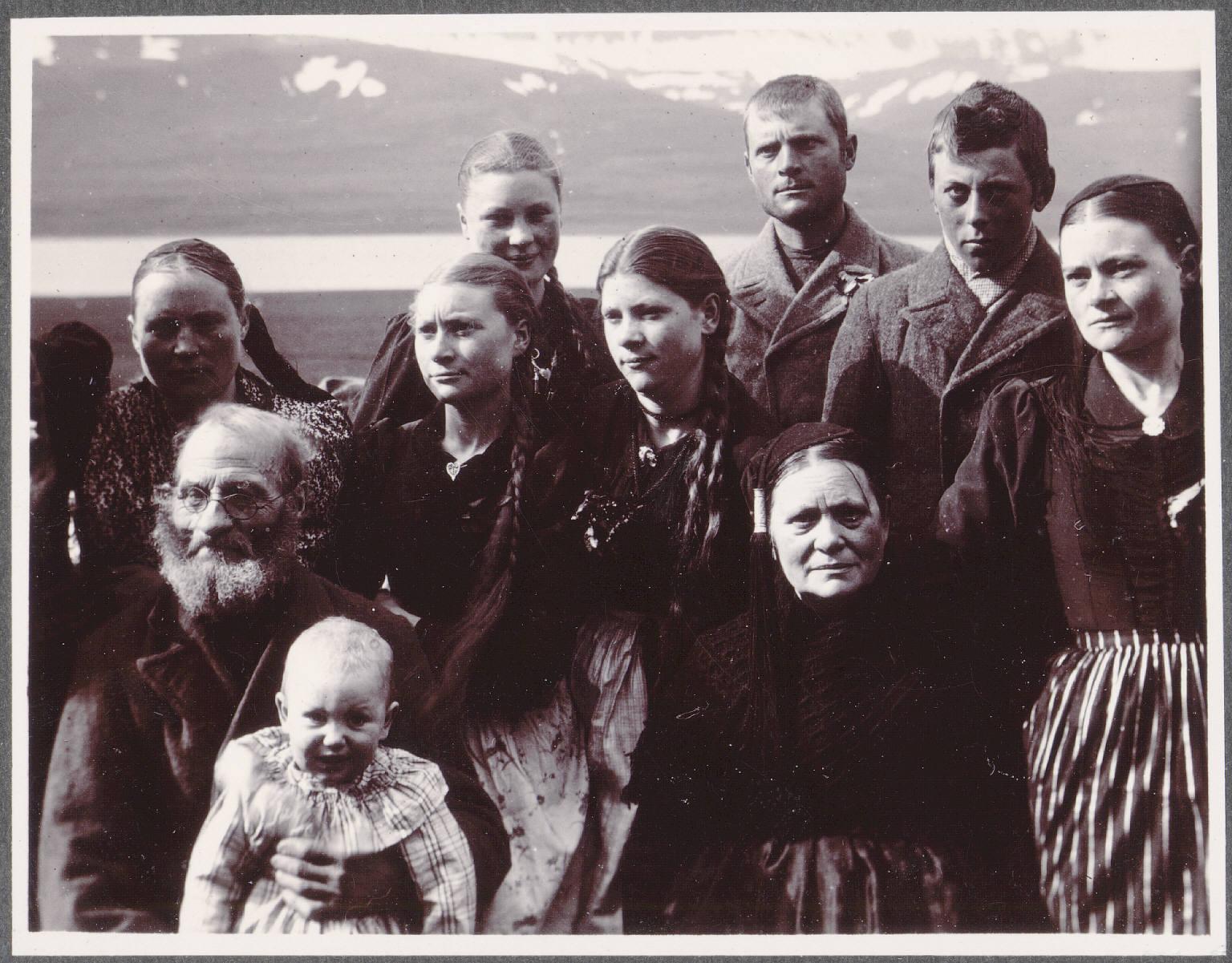Грунд. Семейный портрет
