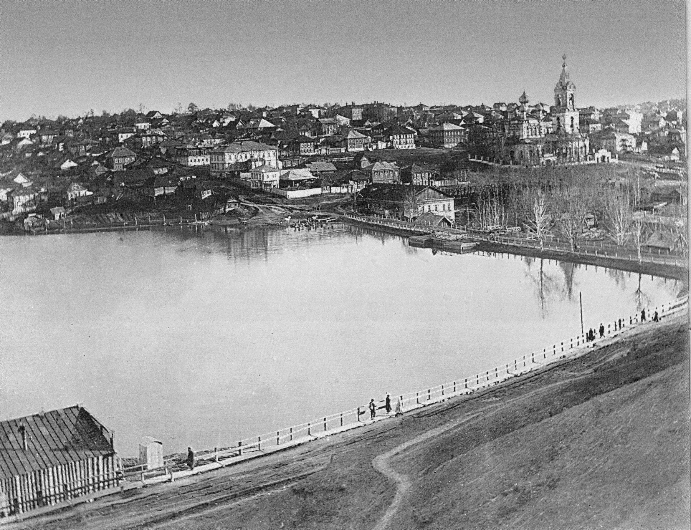 Панорама Мотовилихинского пруда