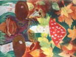 "Малышева Ксения (рук. Горшкова Елена Павловна) - ""Веселые грибочки"""
