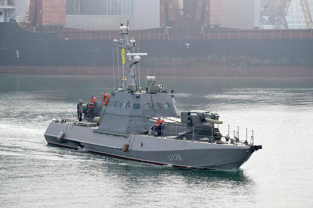 ВМС Украины приняли на вооружение два новых артиллерийских катера. ФОТОрепортаж