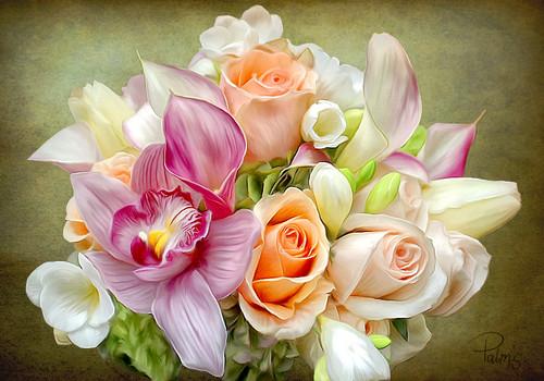 Photo of Bridal Boque for fans of Romantic. Bridal Boque