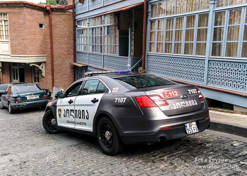 Дорожная полиция в Грузии