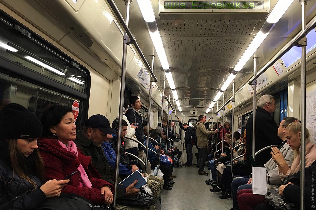 Чем мы дышим в транспорте Москвы: Один день в метро и МЦК