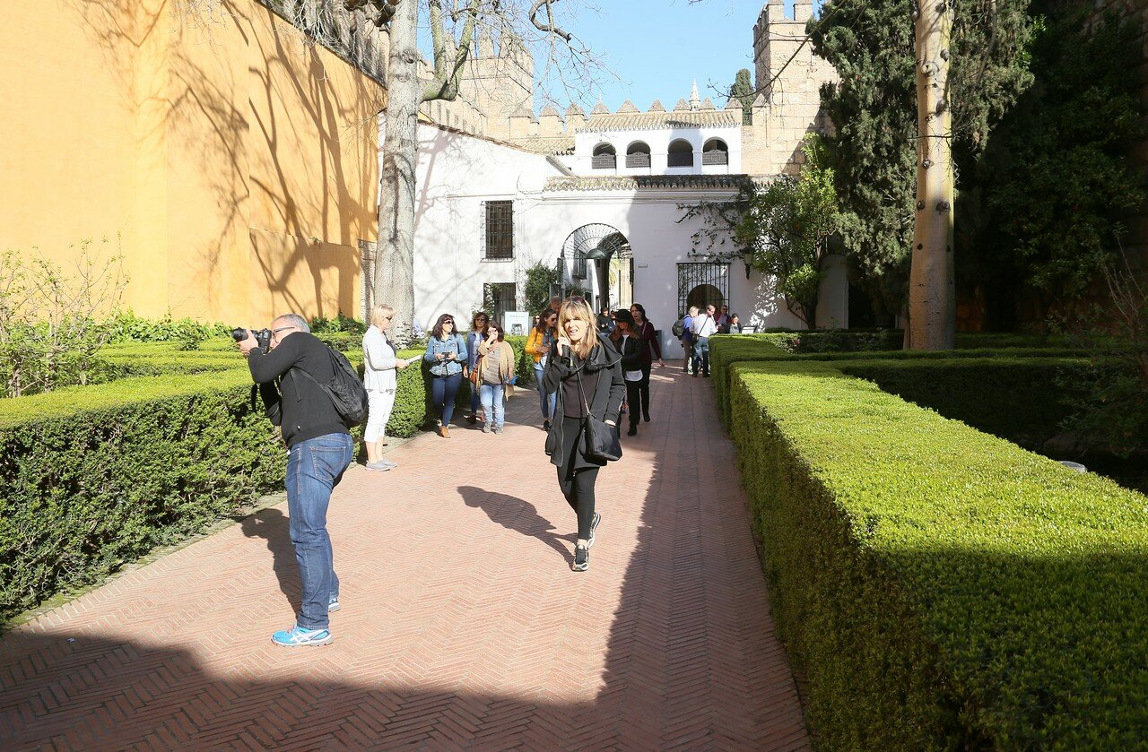Lion's patio, Alcázar of Seville