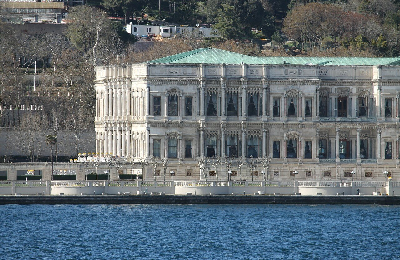 Istanbul. Palaces Beskitas. View from the Bosphorus