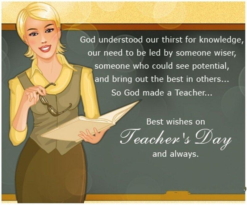 стих на английском для поздравления учителей