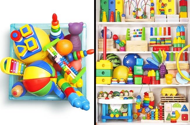 © depositphotos  Попросите ребенка убрать наместо игрушки, пока вынесмотрите, азатем попыт