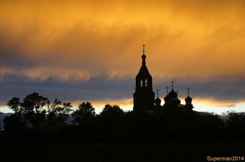 Закат на Кудыкиной горе