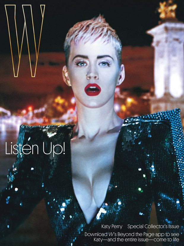 Katy Perry Stars in the Cover Story of W Magazine September 2017 Issue (8 pics)