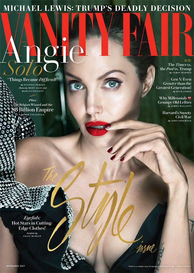 Angelia Jolie Solo Photographers: Mert Alas & Marcus Piggott Stylist: Jessica Diehl Star: Angelia Jo