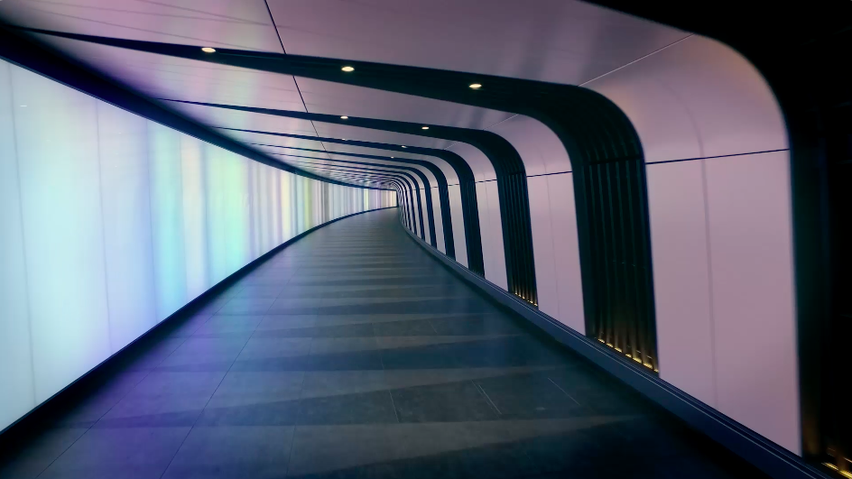Mesmerizing Underground Tunnels in London