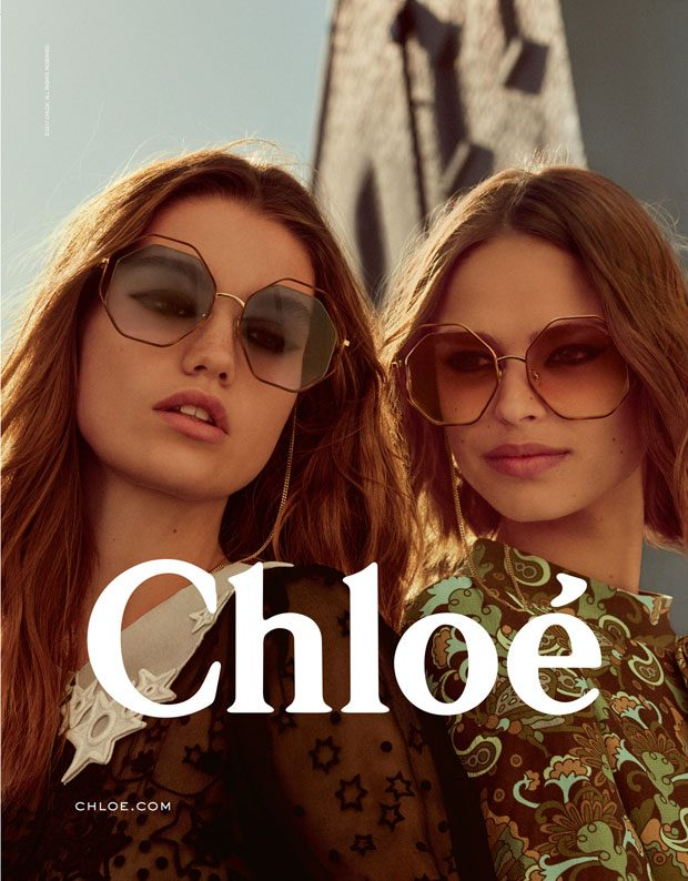 Breakthrough Top Models Birgit Kos & Luna Bijl Are The Faces of Chloe (12 pics)