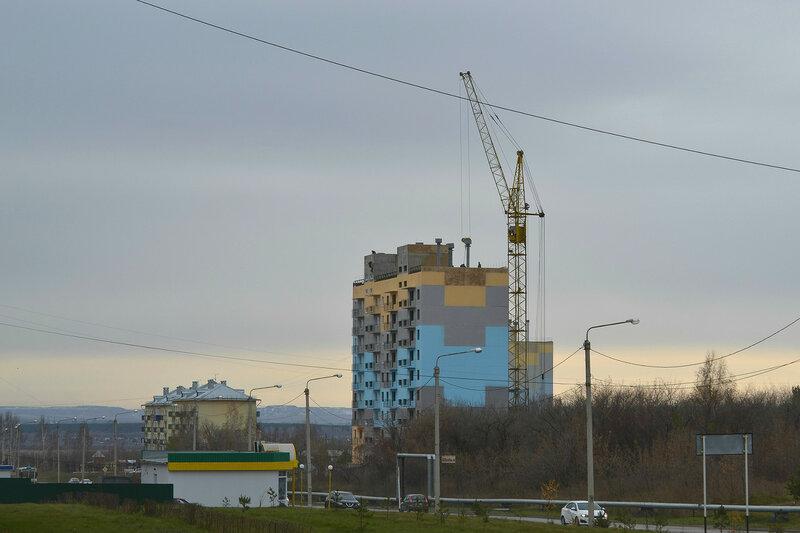 Строительство квартала Сосновый в Белове