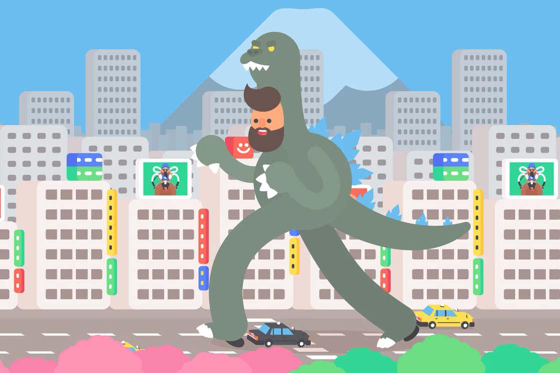 TOKYO Gifathon – Il raconte son voyage au Japon en 30 GIFs animes (21 pics)