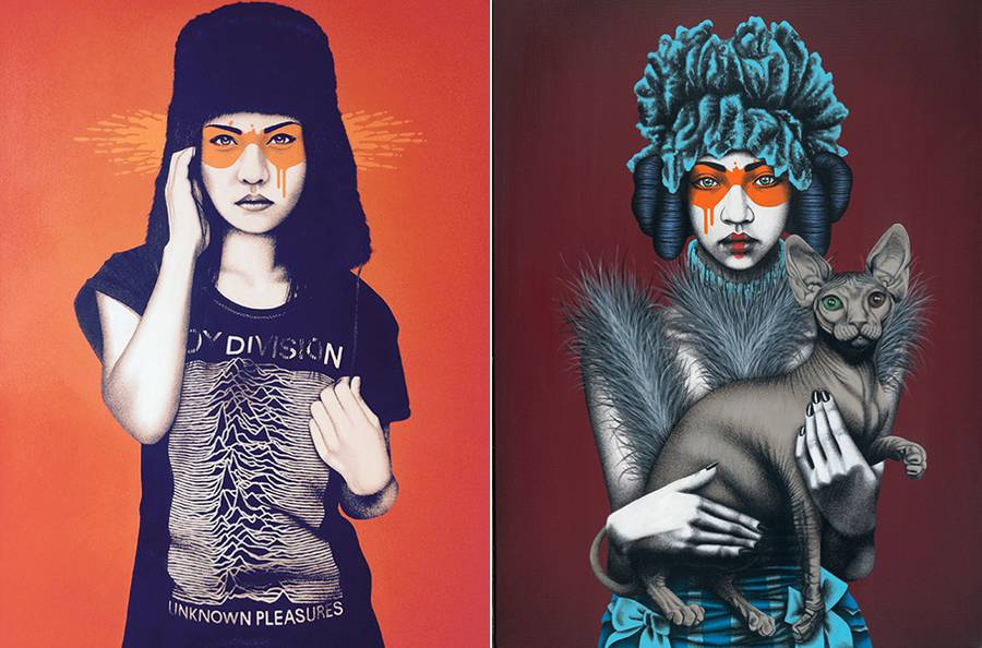 Amazing Women Illustrations by Fin Dac (10 pics)