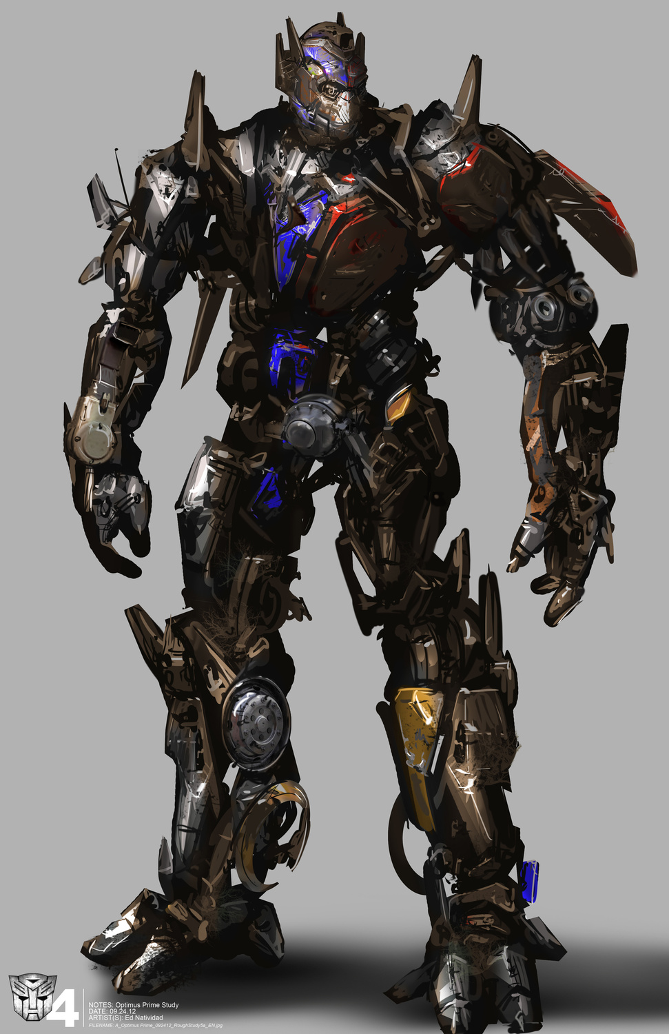 Transformers: Age of Extinction Concept Art by Ed Natividad