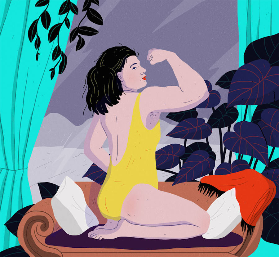 Striking & Colorful Illustrations Depicting our Society