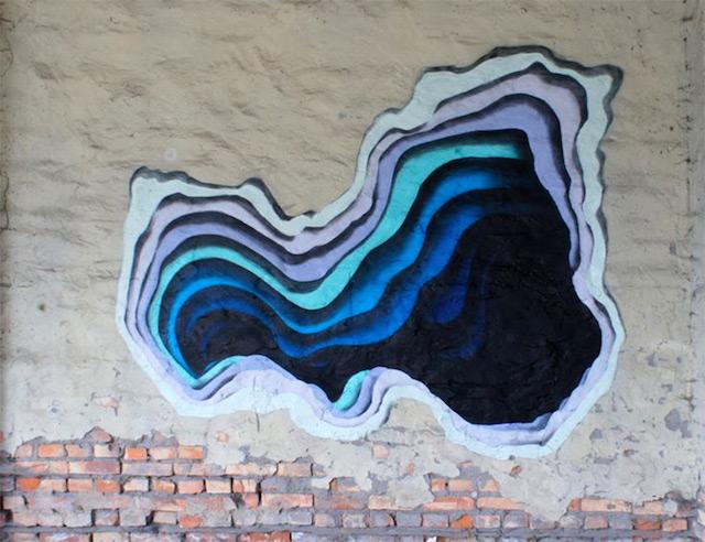 Hidden Portals of Color in Walls