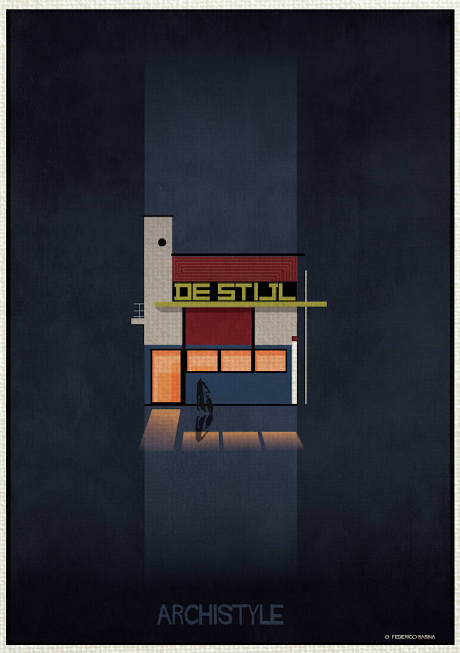 Architecture's Movements Illustrated Through Posters