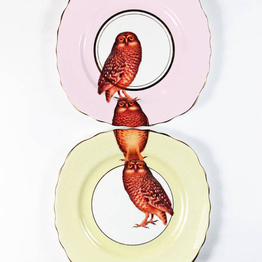 Inventive Compatible Wildlife Dishes and Tea Sets