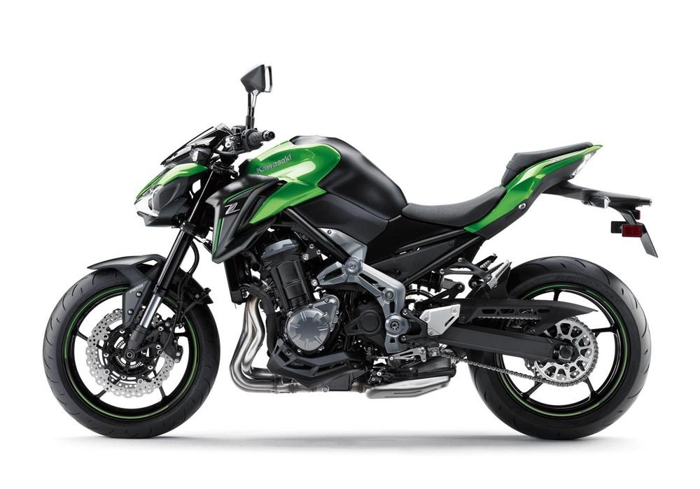Новый мотоцикл Kawasaki Z900 A2 2018