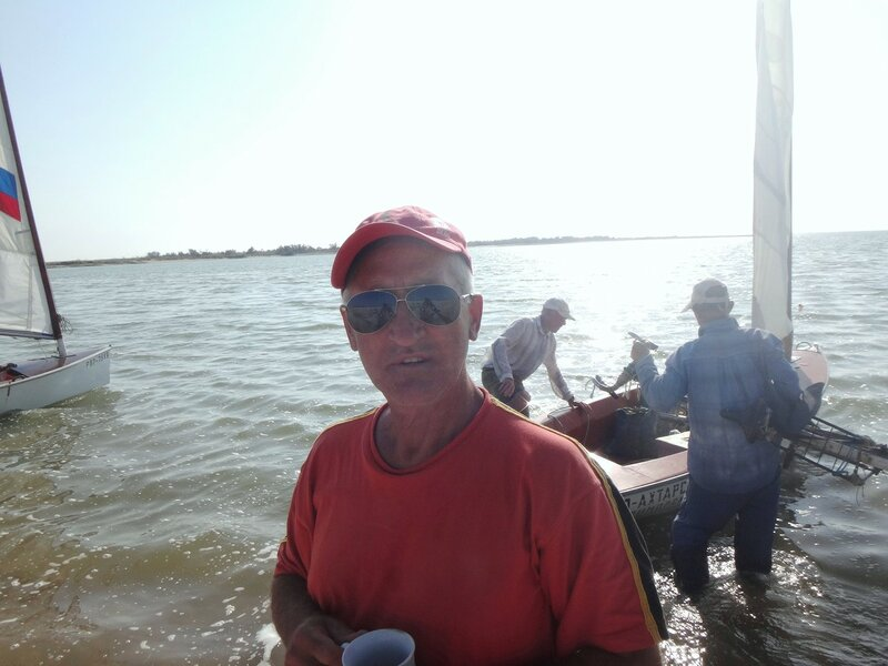 Друзья-яхтсмены нас перевезут в родной район Ахтарский! ...   31. Фото из велокольца. Ахтари-Староминская-Бейсугский пролив (195).JPG