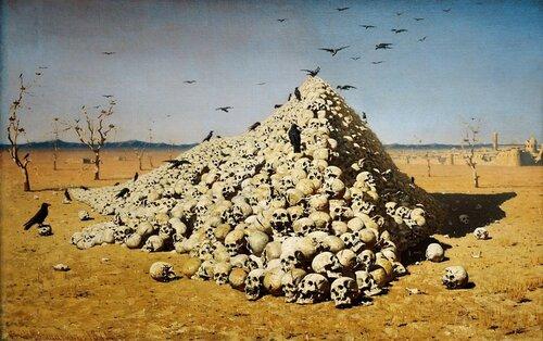 Василия Верещагина «Апофеоз войны»