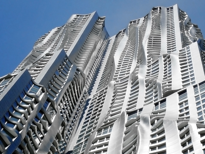 Небоскреб New York by Gehry