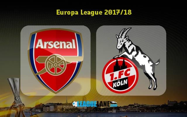Арсенал – Кельн (14.09.2017) | Лига Европы 2017/18 | Групповой этап | 1-й тур