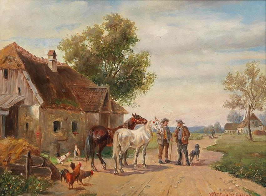 Am Weg zum Pferdemarkt