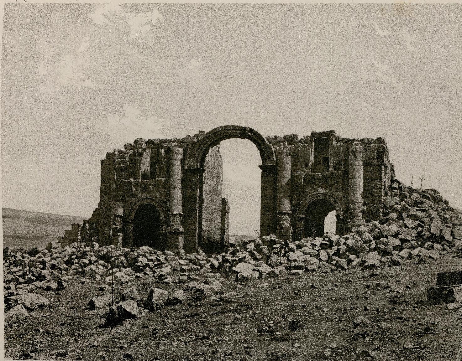 48. Джараш. Триумфальная арка Адриана