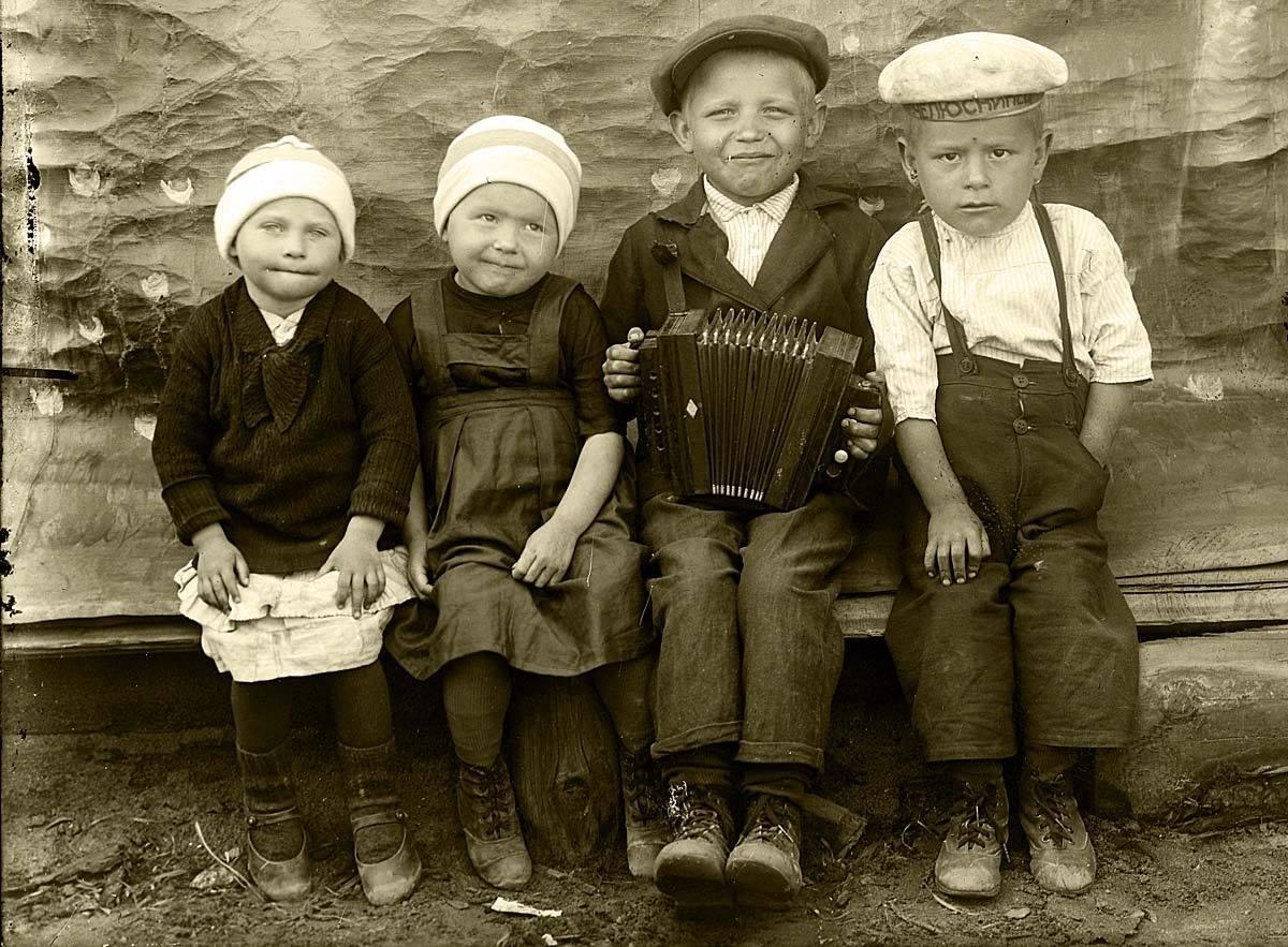 1930-е. Пермские дети