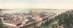 Пермские пушечные заводы. 1870-е