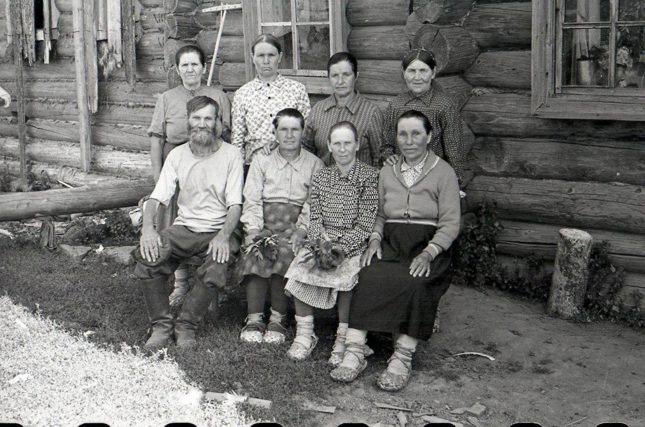 1961. На покос, с.Полозово
