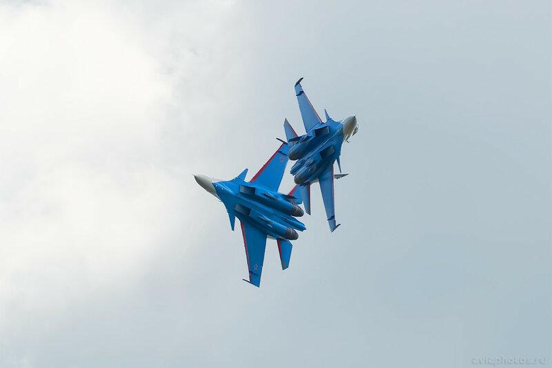 Сухой Су-30СМ АГВП Русские Витязи D801489a
