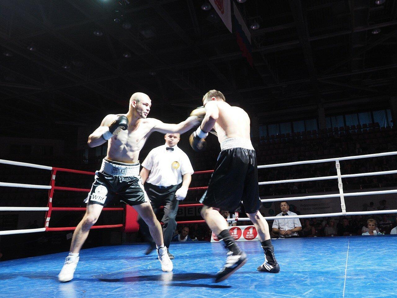 90 Вечер профессионального бокса в Магнитогорске 06.07.2017